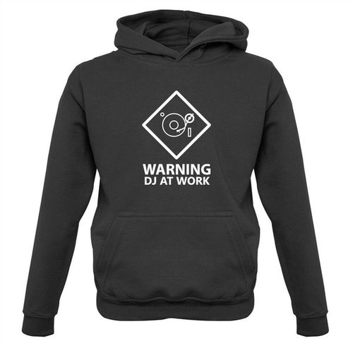 "Pulli ""Warning DJ At Work"""