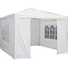 Stative Outdoor - Pavillon 3 x 3 Meter weiss